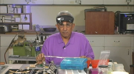 Yehuda Tassa, Yemenite Filigree Master seen in excerpt from his second DVD to be released in 2009