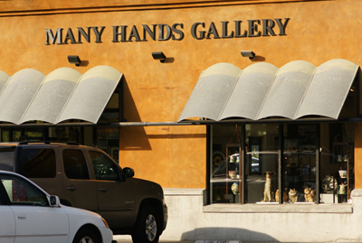 Many Hands Gallery, Capitola, CA