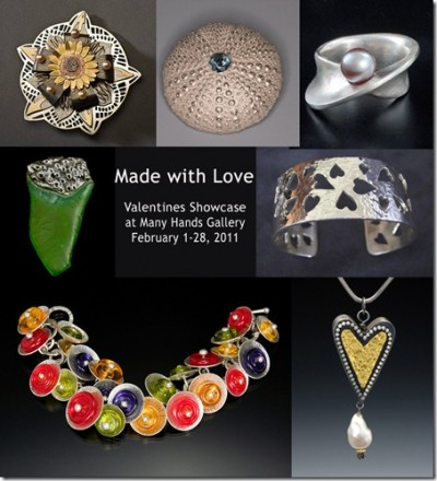 """Made with Love"" Valentines Showcase by the Monterey Bay Metal Arts Guild"